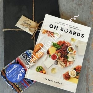 On Boards Recipe Book Plus Gift Box