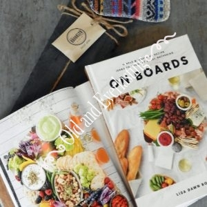 On Boards Recipe Book Slate Board Gift Box