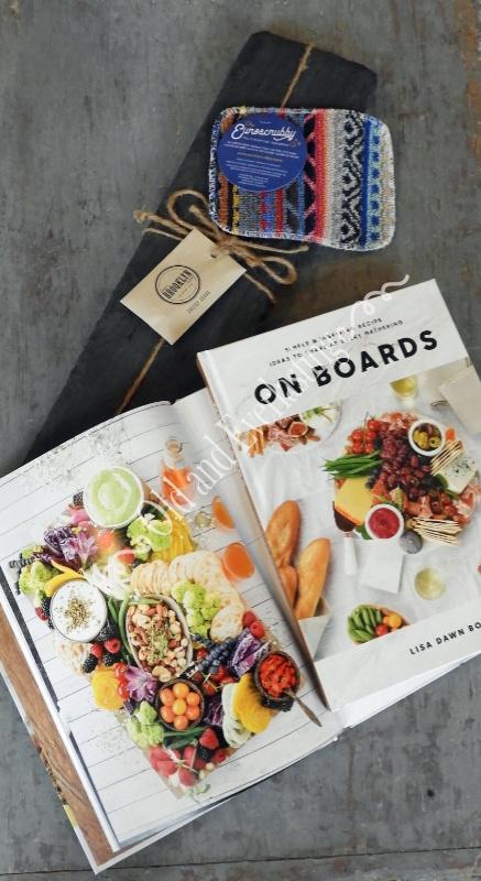 On Boards Recipe Book Slate Board Gift Box